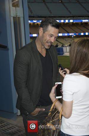 Eddie Cibrian - Los Angeles Dodgers Foundation Inaugural Blue Diamond Gala with special performance by Aloe Blacc at Dodger Stadium...