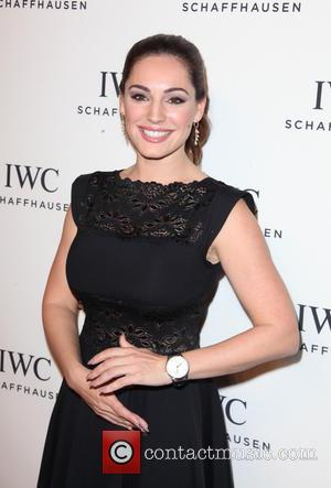 Kelly Brook - IWC Schaffhausen third annual 'For the Love of Cinema' dinner during Tribeca Film Festival at Spring Studios...