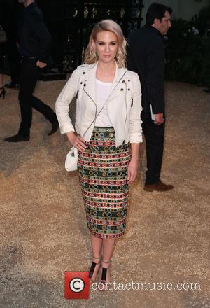 January Jones - Burberry 'London in Los Angeles' event at Griffith Observatory - Arrivals at Griffith Observatory - Los Angeles,...