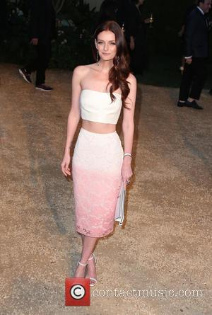 Lydia Hearst - Burberry 'London in Los Angeles' event at Griffith Observatory - Arrivals at Griffith Observatory - Los Angeles,...