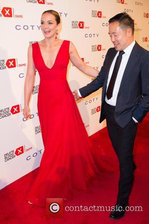 Katharina Harf and Derek Lam