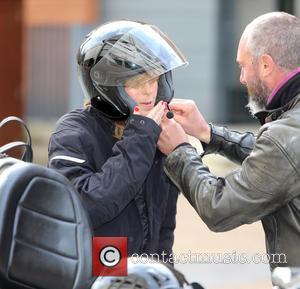 Kate Garraway - Kate Garraway outside the ITV Studios - London, United Kingdom - Thursday 16th April 2015