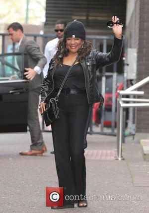 Mary Wilson - Mary Wilson outside the ITV Studios - London, United Kingdom - Thursday 16th April 2015