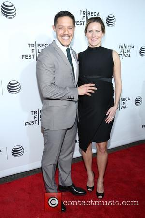 Theo Rossi and Meghan Mcdermott