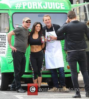 Phil Tufnell and Casey Batchelor