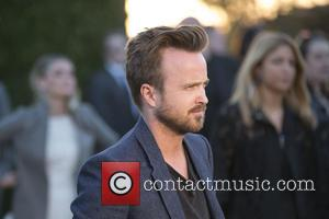 Aaron Paul - A host of celebs were snapped as they attended the Burberry 'London in Los Angeles' event which...