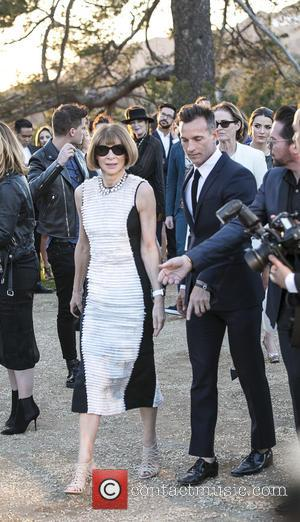 Anna Wintour - A host of celebs were snapped as they attended the Burberry 'London in Los Angeles' event which...