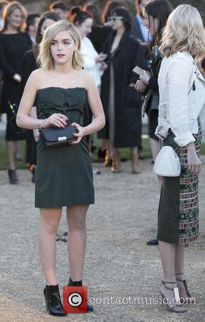 Kiernan Shipka - A host of celebs were snapped as they attended the Burberry 'London in Los Angeles' event which...