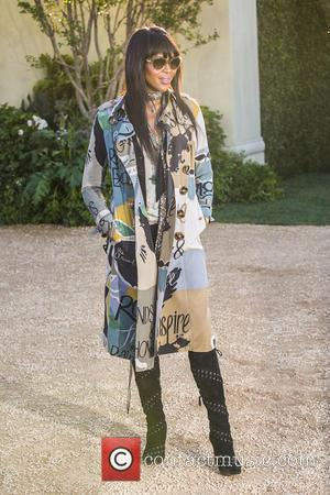 Naomi Campbell - A host of celebs were snapped as they attended the Burberry 'London in Los Angeles' event which...