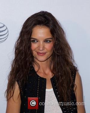 Katie Holmes - 2015 Tribeca Film Festival - 'Eternal Princess' screening at Regal Cinemas Battery Park 11 - Arrivals at...
