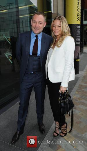 David Gray and LeAnn Rimes - LeAnn Rimes and David Gray arrive at BBC Breakfast Studio's, Media City Manchester -...