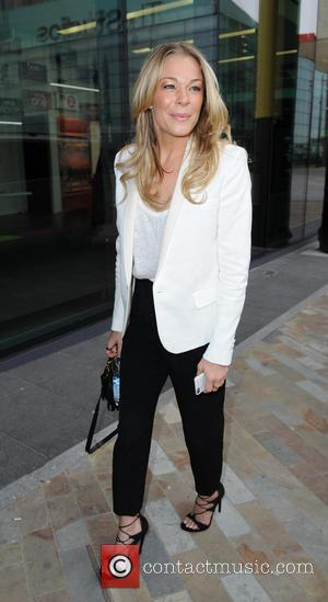 LeAnn Rimes - LeAnn Rimes and David Gray arrive at BBC Breakfast Studio's, Media City Manchester - Manchester, United Kingdom...