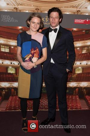 James Norton and Victoria Peacock - The Backstage Gala held at the Coliseum - Arrivals. - London, United Kingdom -...