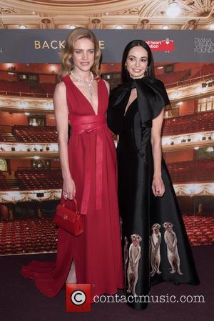 Natalia Vodianova and Diana Vishneva