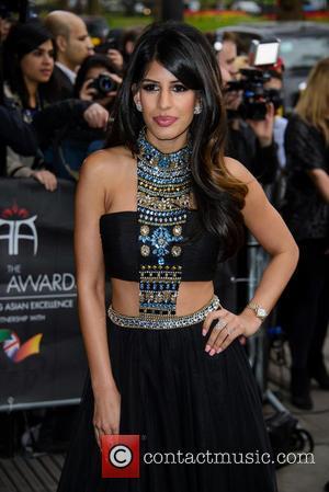 Jasmin Walia - The 5th Asian Awards held at the Grosvenor House Hotel - Arrivals at Grosvenor House - London,...