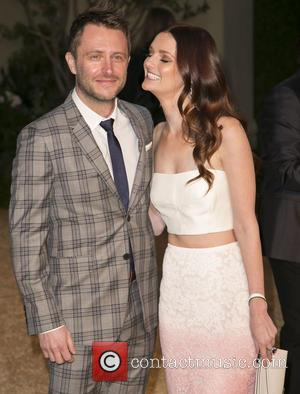 Chris Hardwick and Lydia Hearst - A host of celebs were snapped as they attended the Burberry 'London in Los...