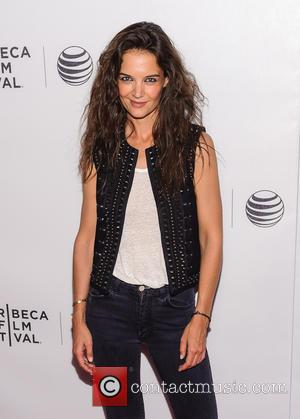 Katie Holmes - 2015 Tribeca Film Festival - 'Eternal Princess' - Screening - Arrivals at Tribeca Film Festival - New...
