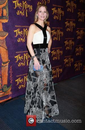 Kelli O'Hara wearing Carmen Marc Valvo - Opening night after party for The King and I at the Vivian Beaumont...