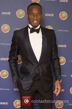 Didier Drogba - The Didier Drogba Foundation Charity Ball at the Dorchester Hotel - Arrivals at Dorchester Hotel - London,...