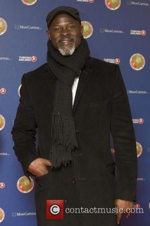 Djimon Hounsou - The Didier Drogba Foundation Charity Ball at the Dorchester Hotel - Arrivals at Dorchester Hotel - London,...