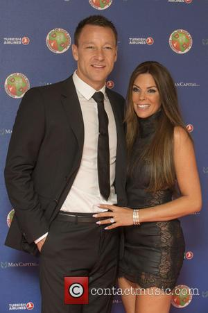 John Terry and Toni Terry - The Didier Drogba Foundation Charity Ball at the Dorchester Hotel - Arrivals at Dorchester...