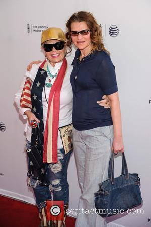 Roseanne Barr and Sandra Bernhard