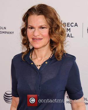 Sandra Bernhard - 2015 Tribeca Film Festival - 'Roseanne For President' premiere - Arrivals at Tribeca Film Festival - New...