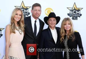 Troy Aikman, Clint Black and Lisa Hartmand Black