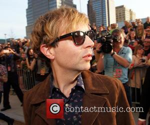 Beck - Photo's of a host of rock and roll stars as they attended the the Rock and Roll Hall...