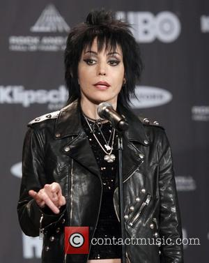 Joan Jett - Photo's of a host of rock and roll stars as they attended the the Rock and Roll...