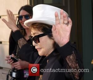 Yoko Ono - Photo's of a host of rock and roll stars as they attended the the Rock and Roll...