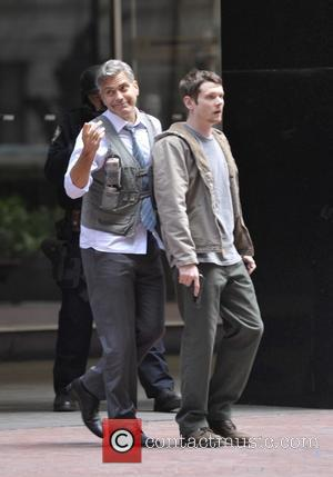 George Clooney and Jack O'Connell
