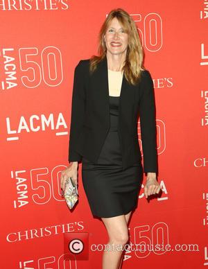 Laura Dern - LACMA 50th Anniversary Gala sponsored by Christies - Arrivals at LACMA - Los Angeles, California, United States...