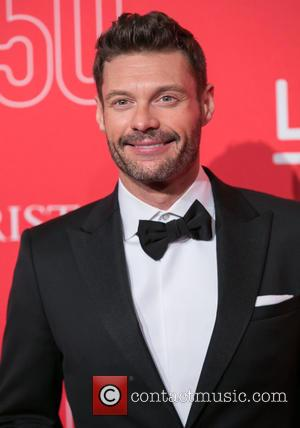 Ryan Seacrest - LACMA 50th Anniversary Gala sponsored by Christies - Arrivals at LACMA - Los Angeles, California, United States...