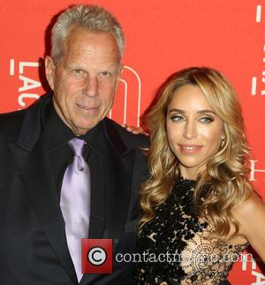 Steve Tisch and Guest - LACMA 50th Anniversary Gala sponsored by Christies - Arrivals at LACMA - Los Angeles, California,...