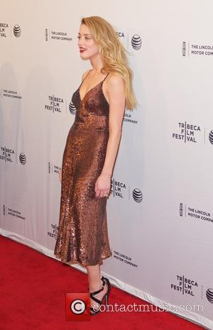 Amber Heard - 2015 Tribeca Film Festival - 'When I Live My Life Over Again' - Screening at Tribeca Film...