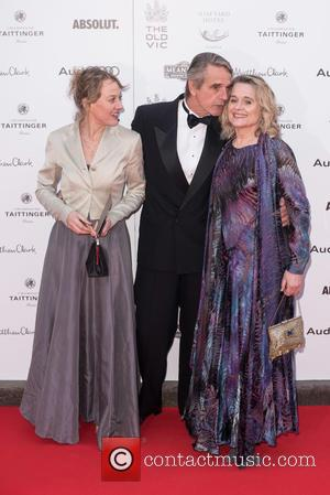 Niamh Cusack, Jeremy Irons and Sinead Cusack
