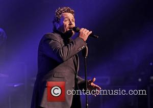 Michael Ball - Michael Ball performs live in concert during his 'If Everyone Was Listening' Tour at Liverpool Auditorium at...