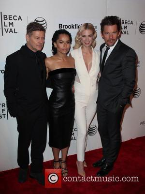 Andrew Niccol, Zoe Kravitz, January Jones and Ethan Hawke