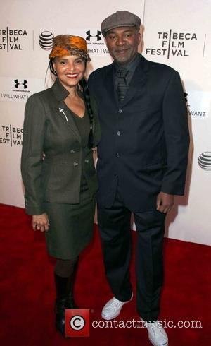 Victoria Rowell and Nelson George