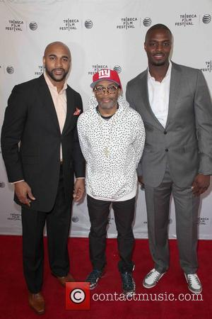 David Tyree, Spike Lee and Plaxico Burress