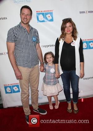 Brady Smith, Harper Renn Smith and Tiffani Thiessen