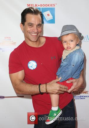 Johnathon Schaech and Camden Quinn Schaech - Milk + Bookies 6th Annual Story Time Celebration at Skirball Cultural Center -...