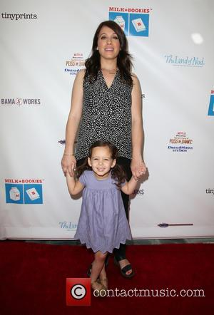 Marla Sokoloff and Elliote Anne Puro - Milk + Bookies 6th Annual Story Time Celebration at Skirball Cultural Center -...
