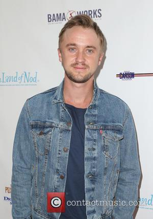 Tom Felton - Milk + Bookies 6th Annual Story Time Celebration at Skirball Cultural Center - Los Angeles, California, United...