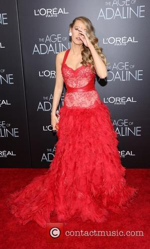 Blake Lively - New York premiere of 'The Age of Adaline' - Arrivals - New York City, New York, United...