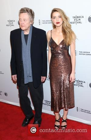 Amber Heard and Christopher Walken