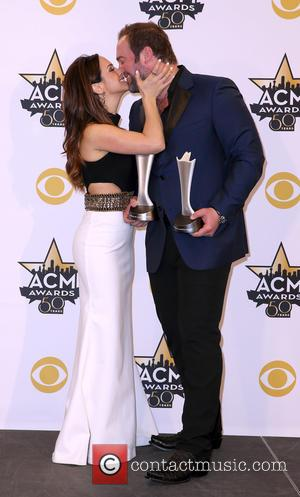 Lee Brice - Shots of a host of stars as they attended the 50th Academy of Country Music Awards which...