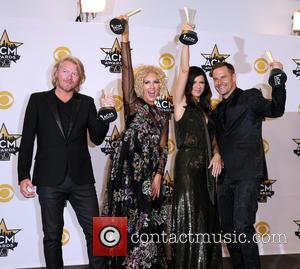 Little Big Town - Shots of a host of stars as they attended the 50th Academy of Country Music Awards...