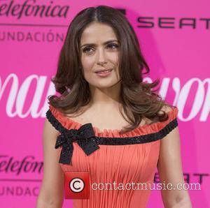Salma Hayek Honoured By Queen Of Spain